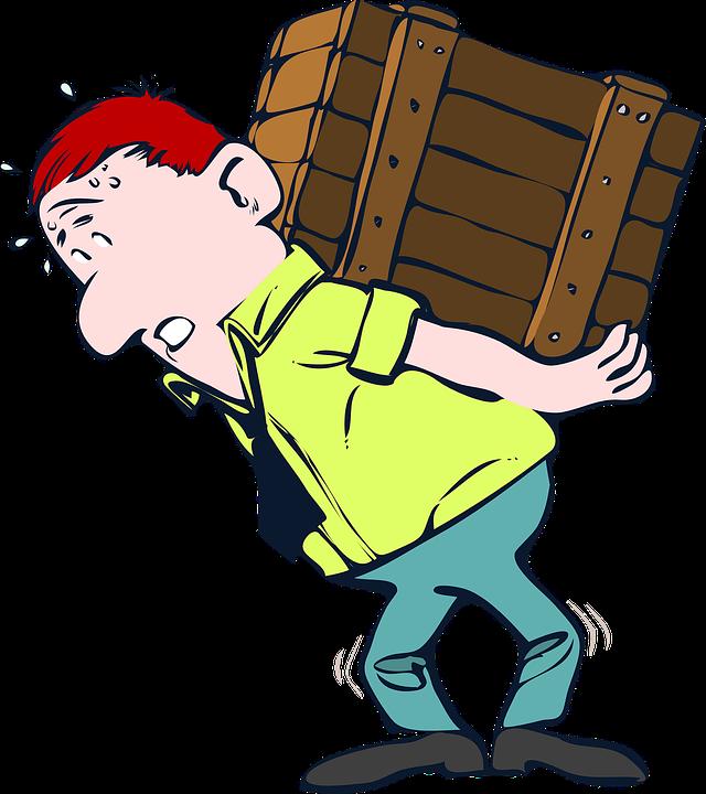 carregamento -carga- leves –mudança