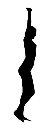 pilates – pessoa – alongamento