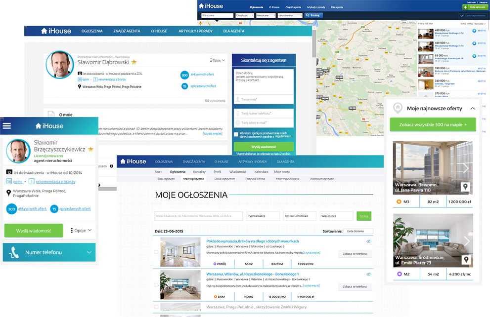 System iHouse dla Pośredników nieruchomości