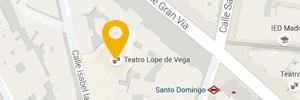 Ubicación Teatro Lope de Vega