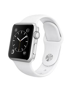 Apple Watch Sport 38 mm белый спортивный ремешок